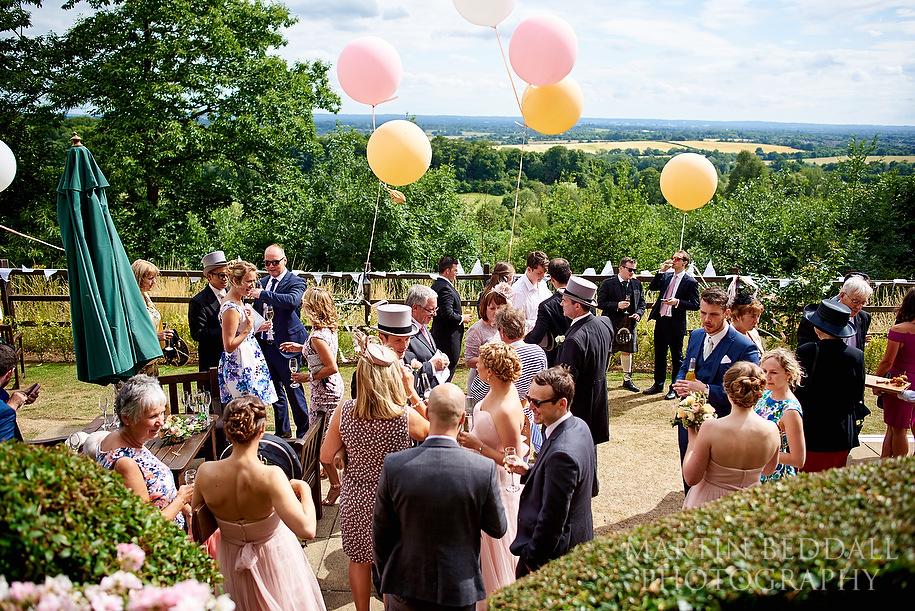 Nutfield Priory wedding reception