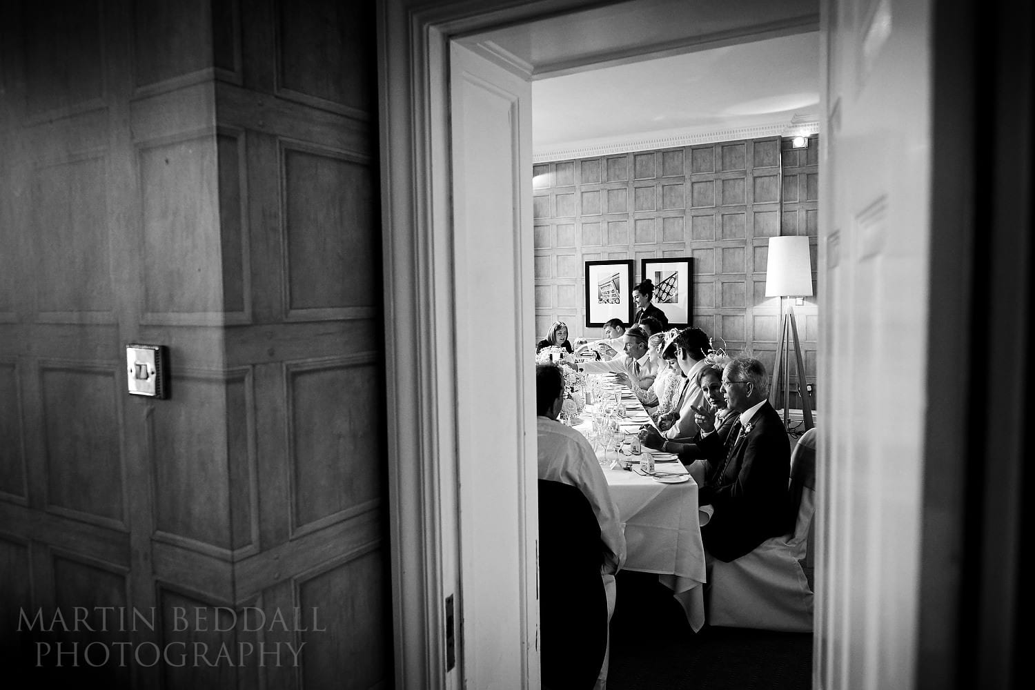 Small wedding dinner at The Grand Hotel in Brighton