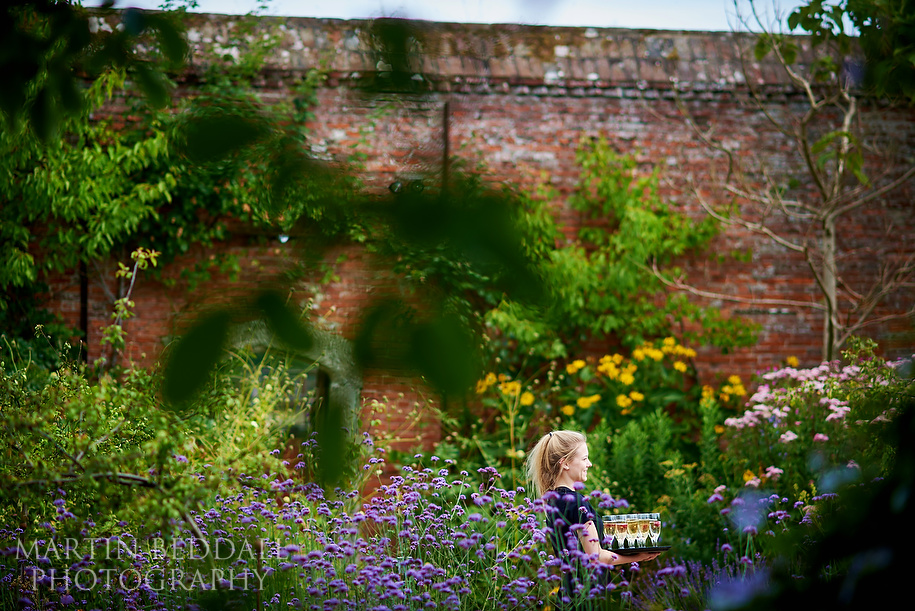 Walled Garden wedding venue at Cowdray in Midhurst