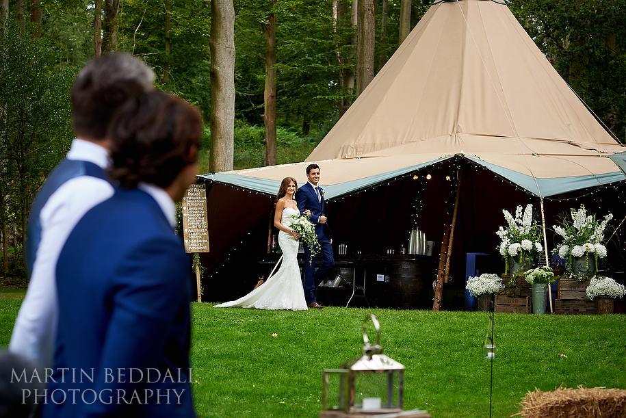 Hyde Estate West Sussex wedding