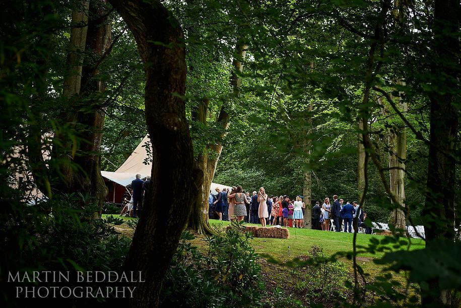 Hyde Estate wedding reception