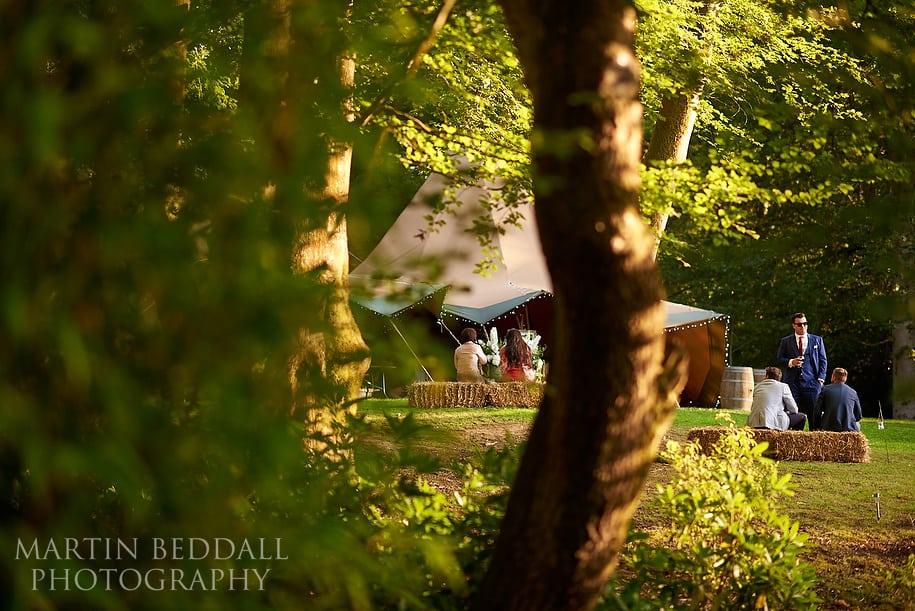Hyde Estate wild garden wedding