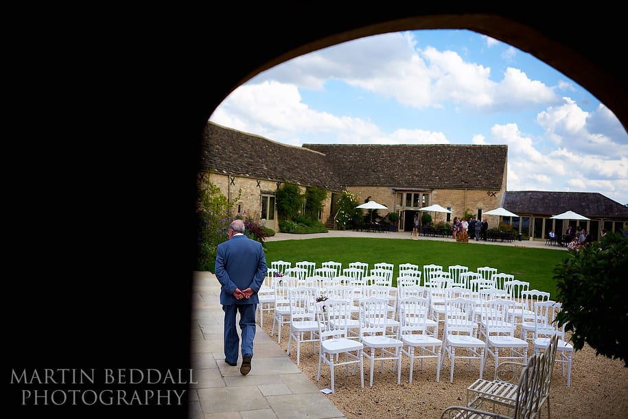 Caswell House outdoor wedding