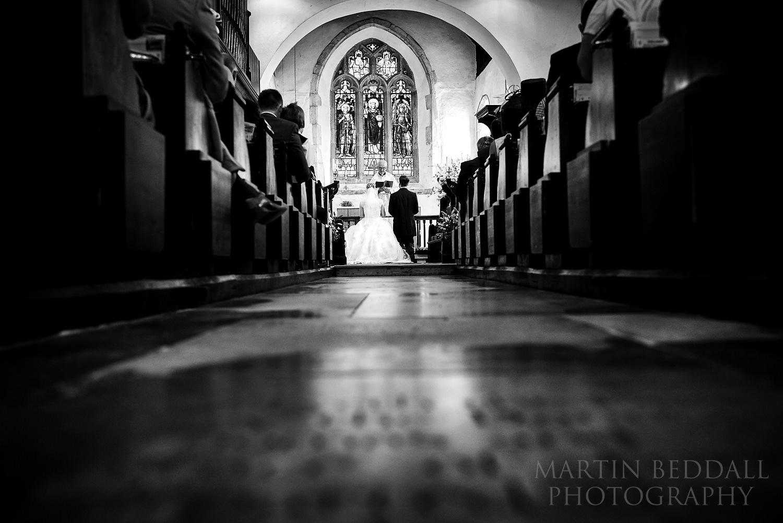Sussex church wedding ceremony