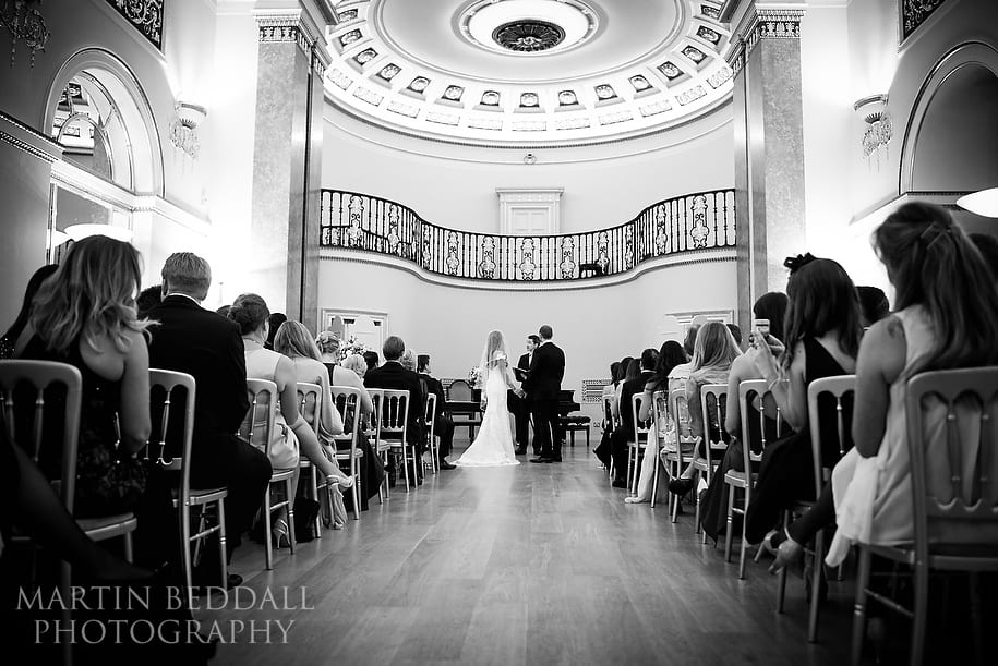 Lansdowne Club wedding ceremony