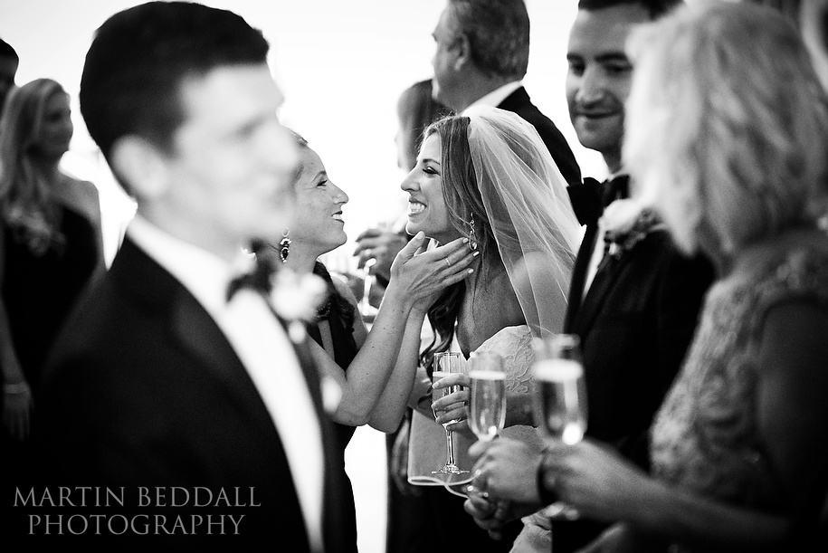 Lansdowne Club wedding reception