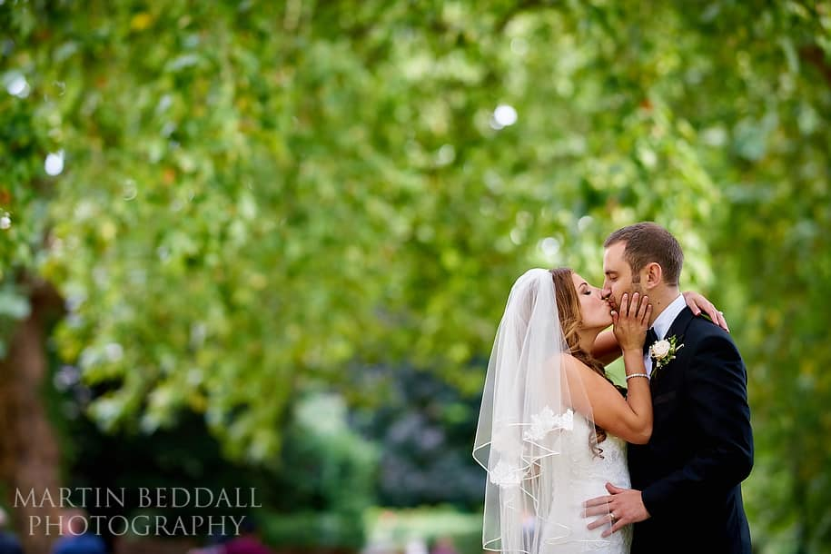 Bride and groom portrait with Sony 135/1.8 mm lens