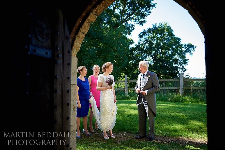 sunny September wedding