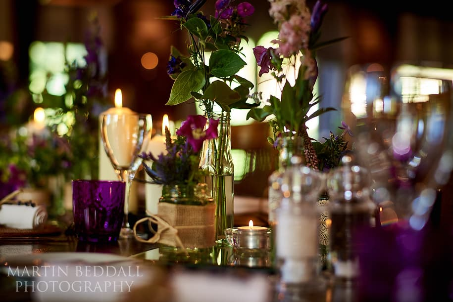 wedding reception at The Mill at Gordleton