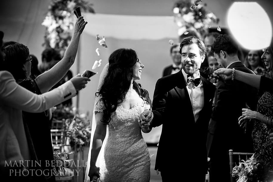 Wedding ceremony at The Amadeus Centre
