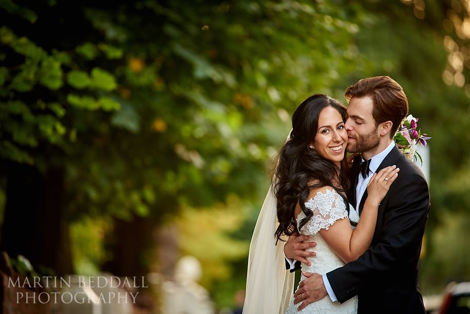 Bride and groom portrait with Nikon 300mm f4 PF VR lens