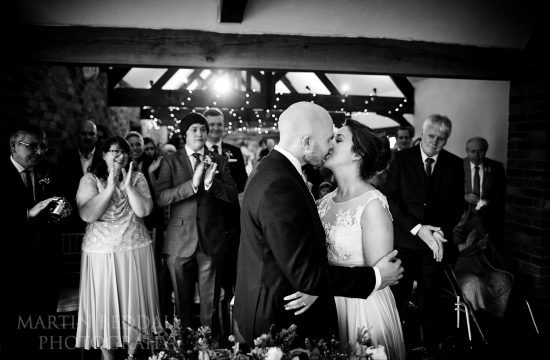 Long Furlong Barn wedding