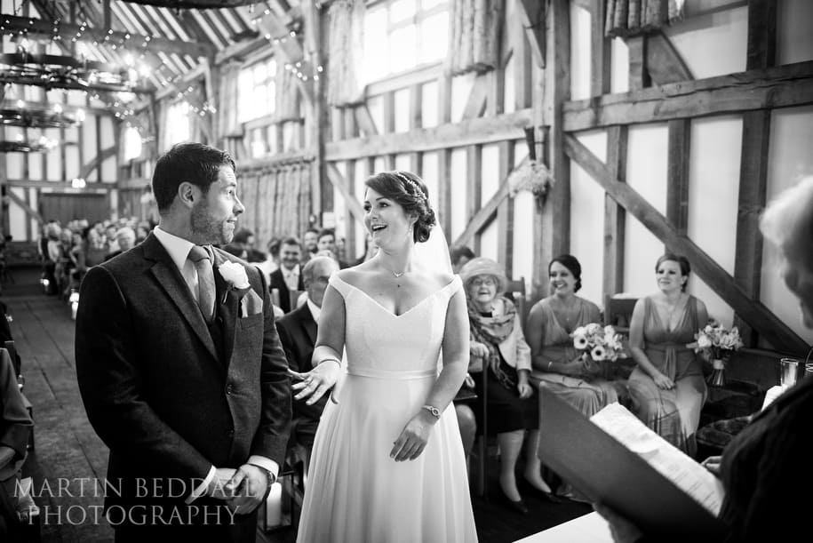 Gate St Barn wedding photography