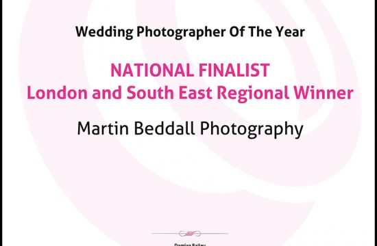 National Finalist Wedding Photographer Awards 2016