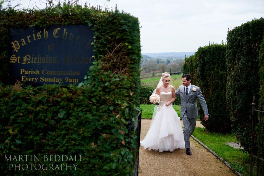 Wedding at Hedsor