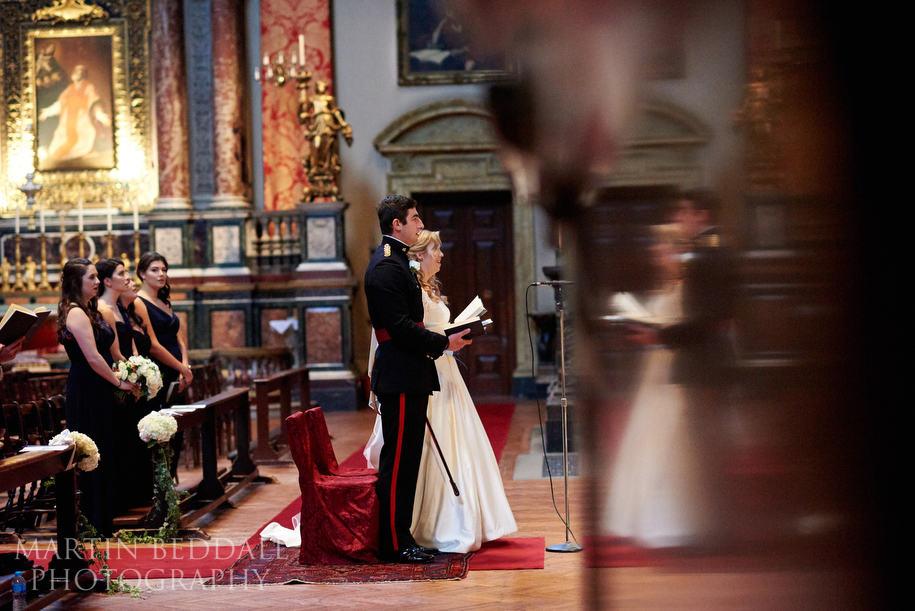 Brompton Oratory wedding photography