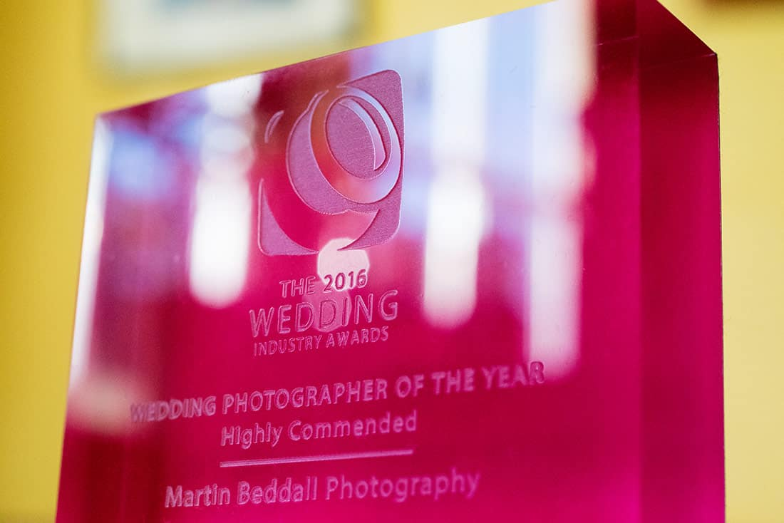 Wedding photography trophy