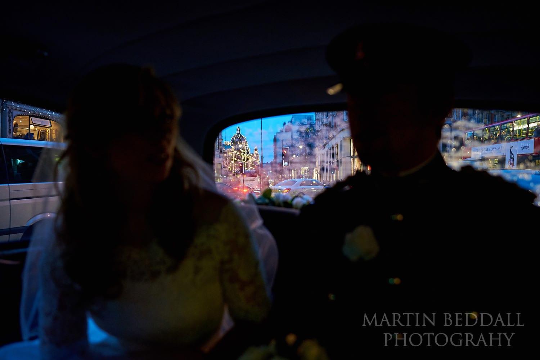Winter London wedding