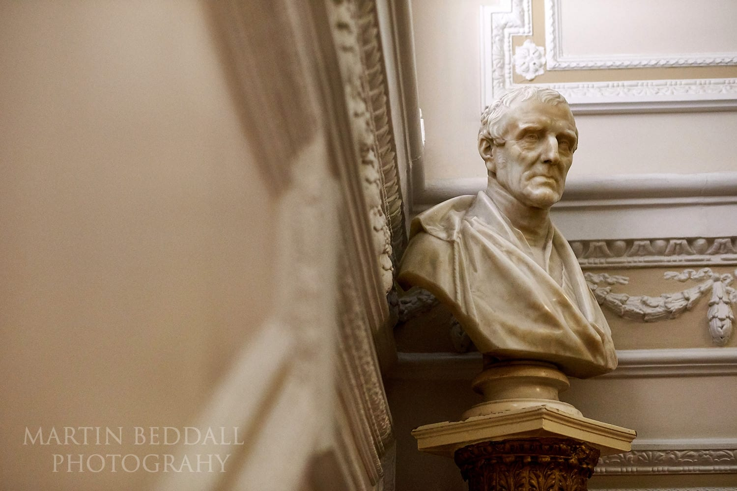 Bust of the Duke of Wellington at the In and Out Club