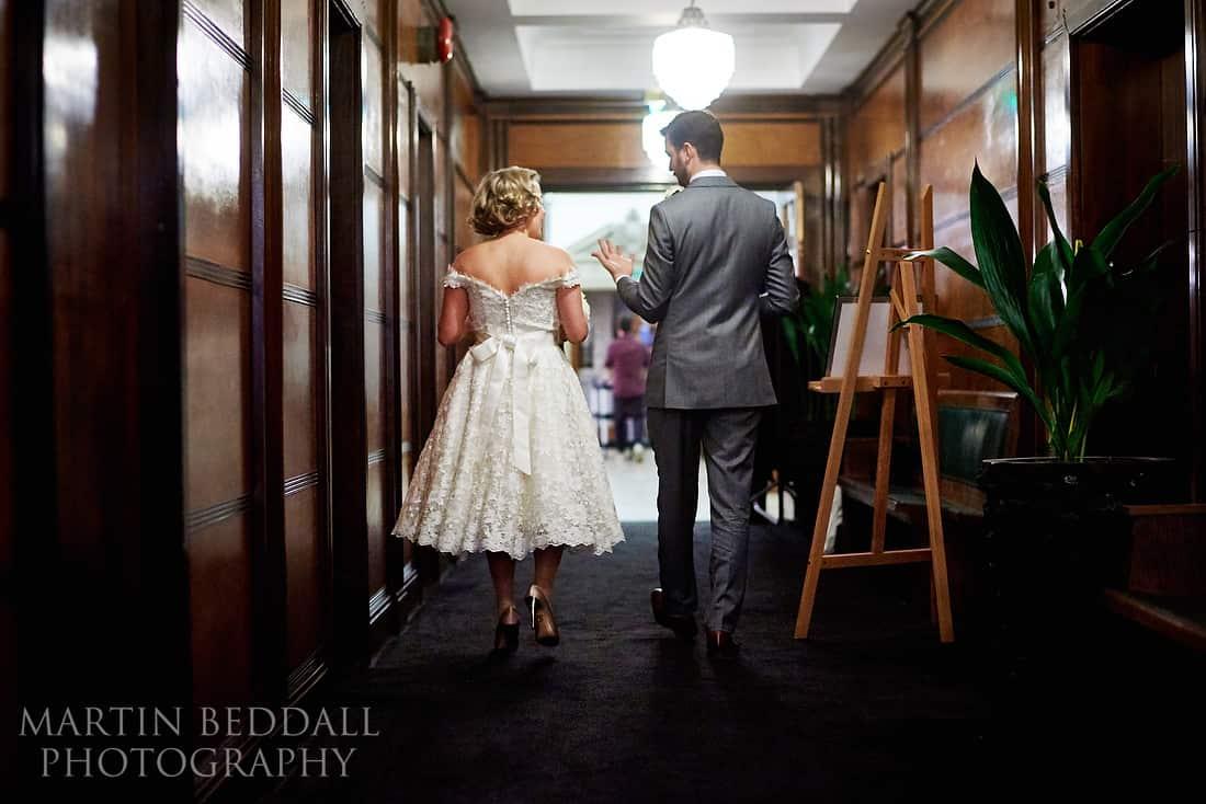 Town House hotel wedding