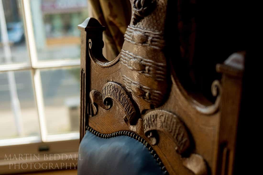 Mayor's parlour detail chair