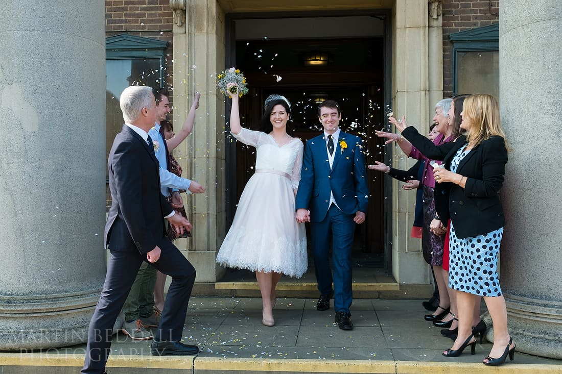 Worthing Town Hall wedding photography
