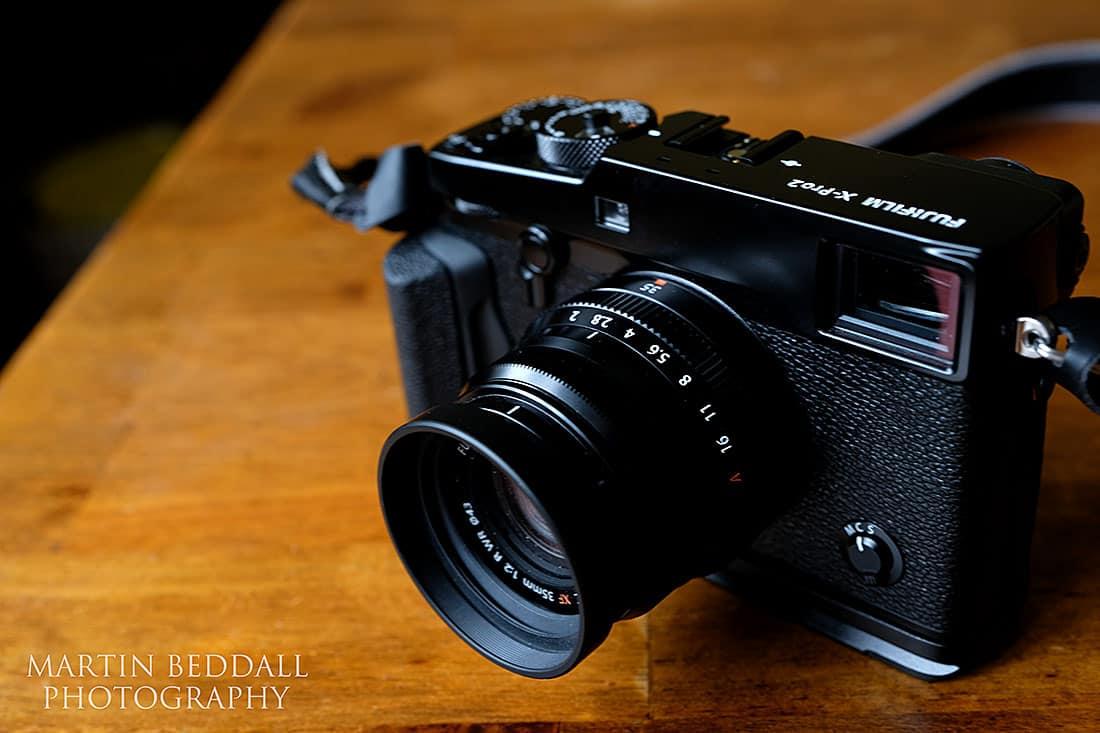 Fuji X-Pro2 wedding camera