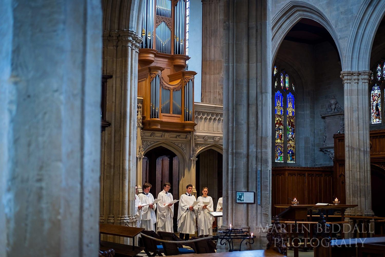 Oxford University Church choir