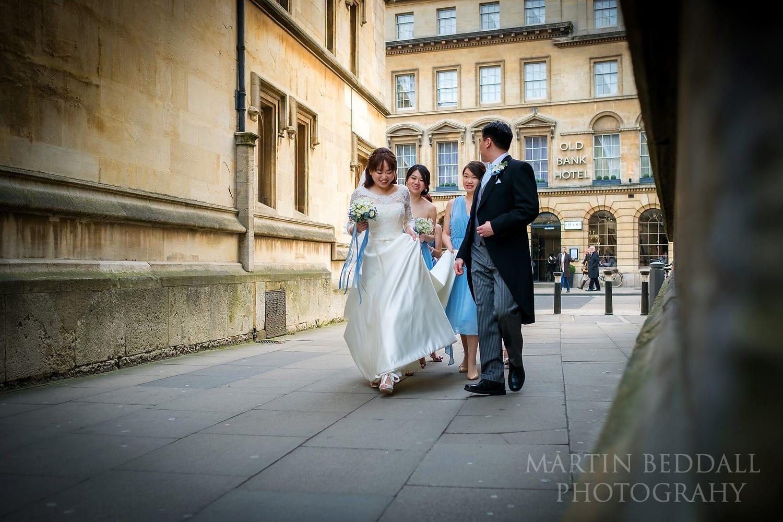 Oxford University Church wedding reporatge