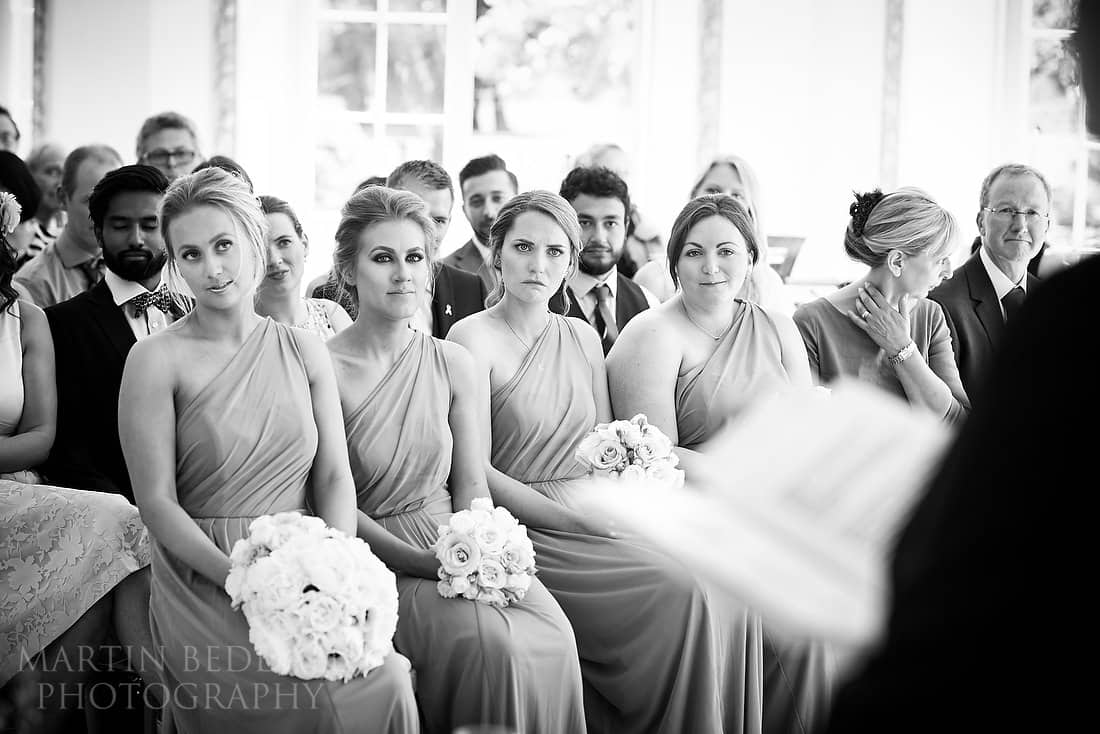 tearful bridesmaid