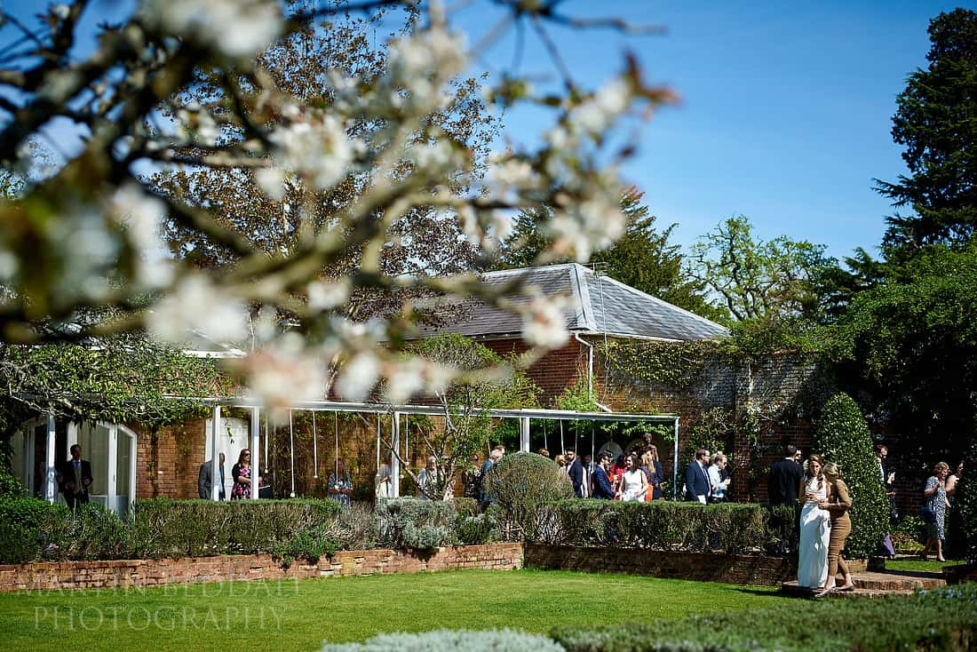 Northbrook Park wedding reception