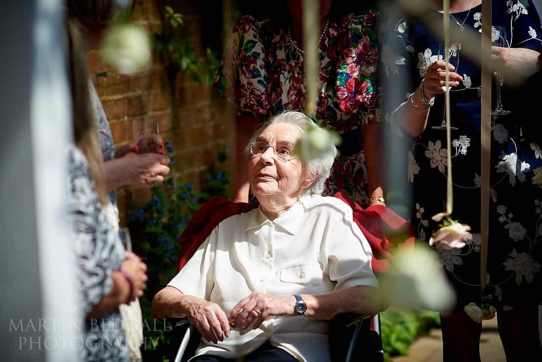 groom's granny