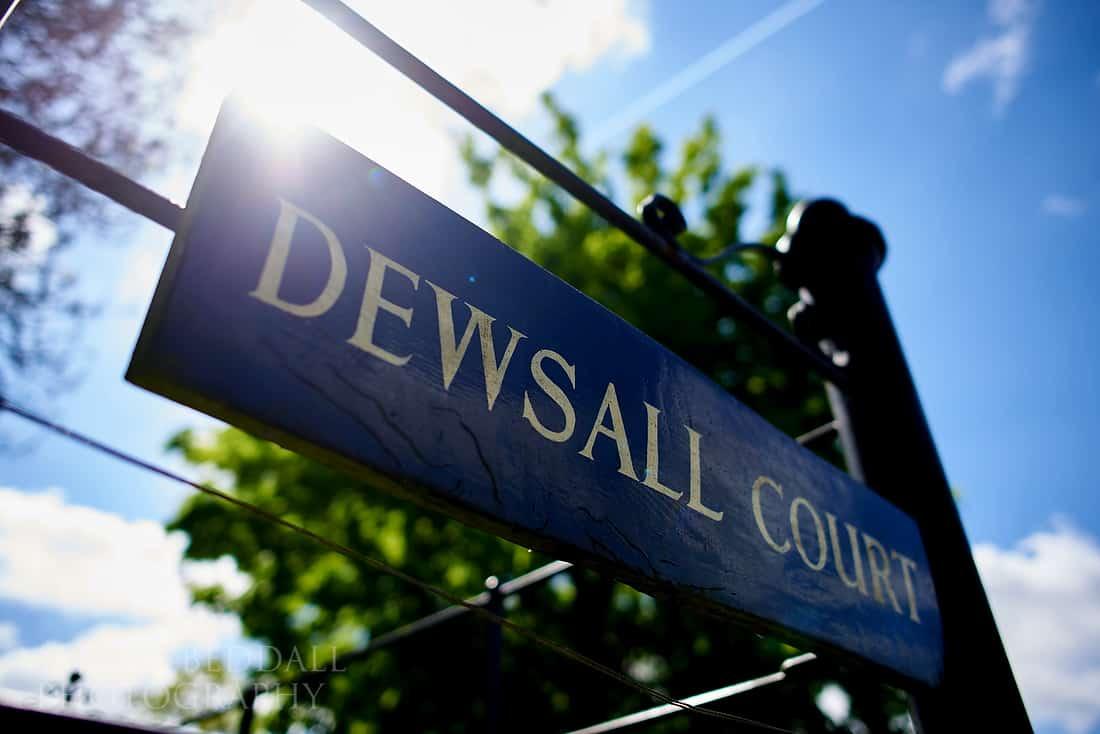 Dewsall Court wedding