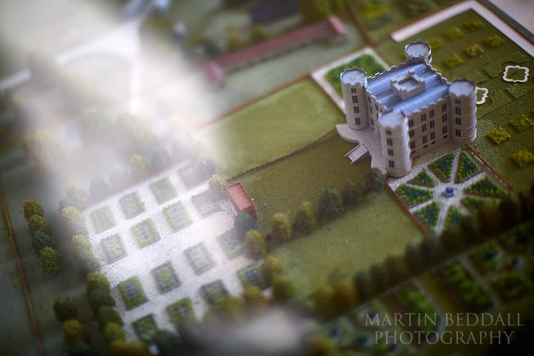 Model of Lulworth Castle