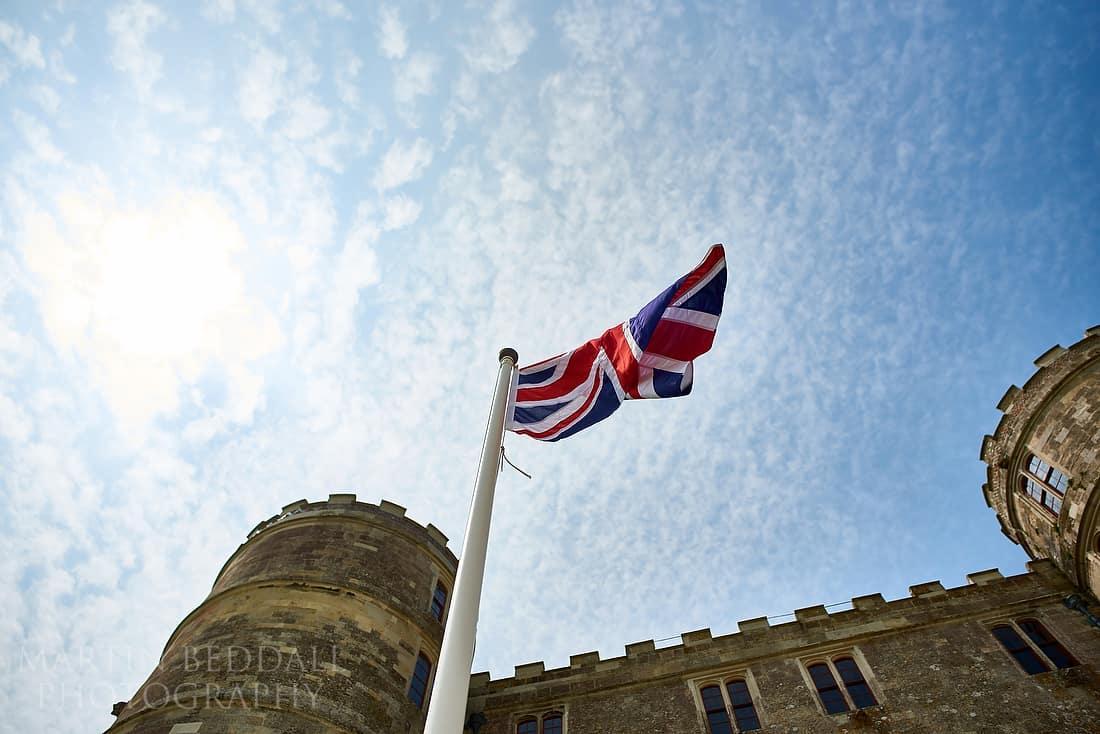 Lulworth castle flag