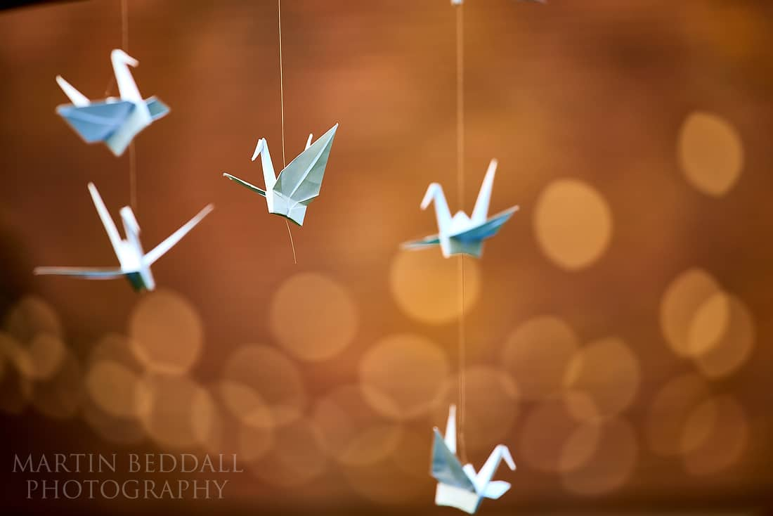 paper bird decorations