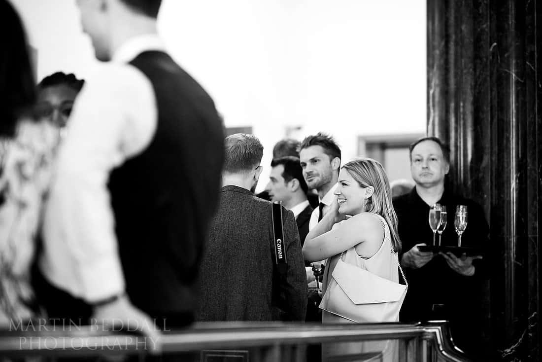 RIBA wedding guests