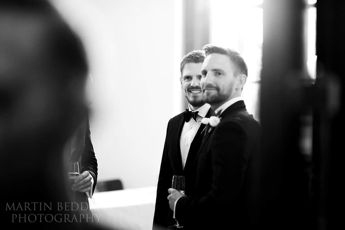 groom and his brother