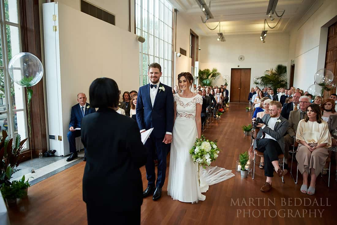 RIBA wedding ceremony