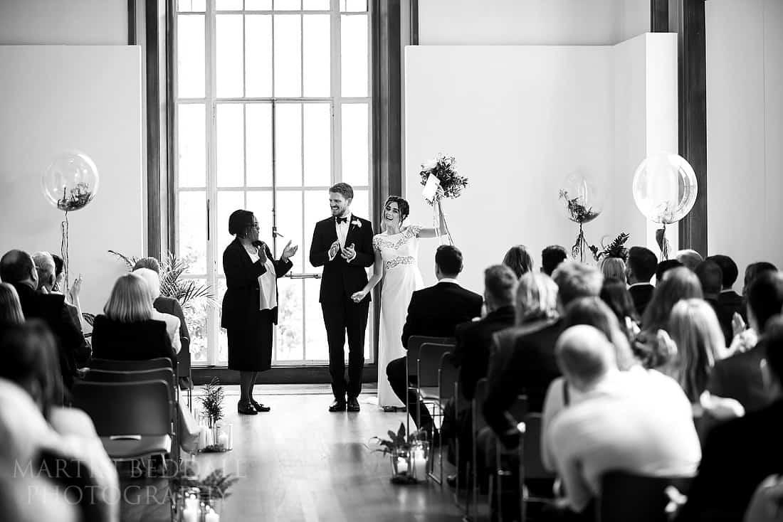 RIBA wedding