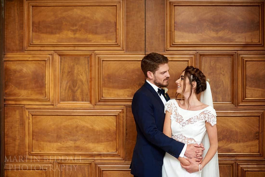 RIBA wedding portrait