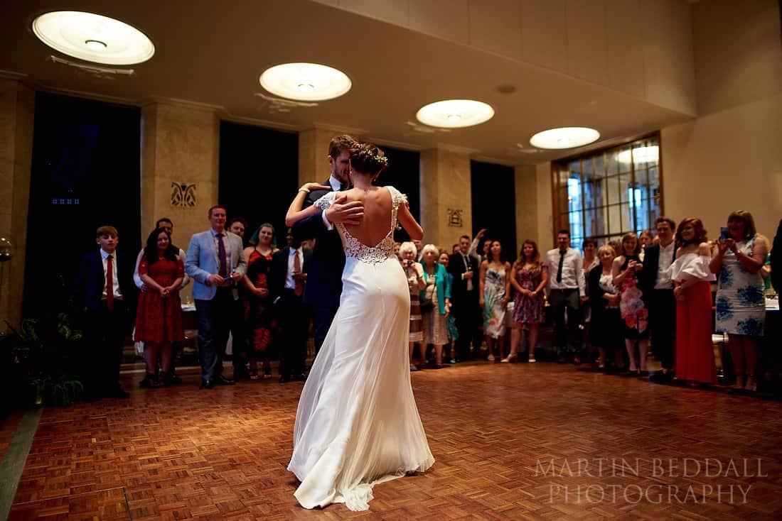 Wedding first dance at RIBA