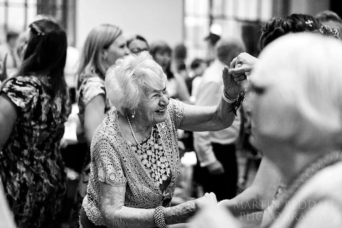 Granny dancing