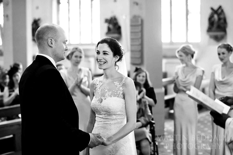 Balham church wedding ceremony