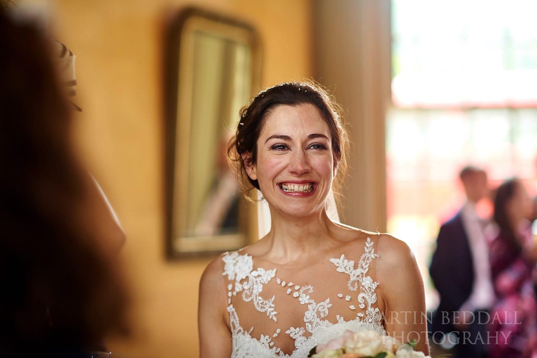 Bride at Hampton Court House