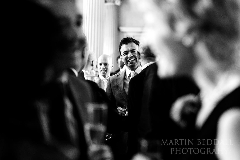 Drinks reception at Hampton Court House