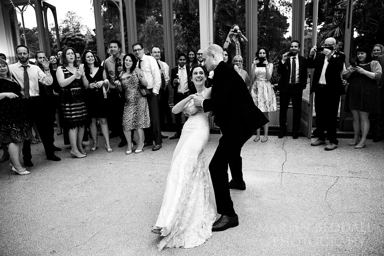 First dance at Hampton Court House wedding