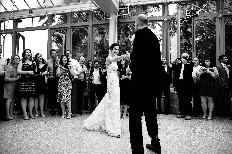 Hampton Court House wedding first dance