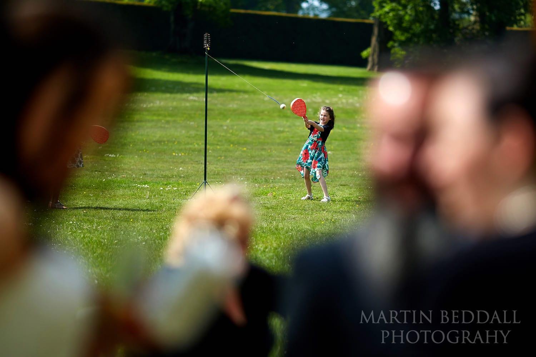 Lulworth Castle wedding games