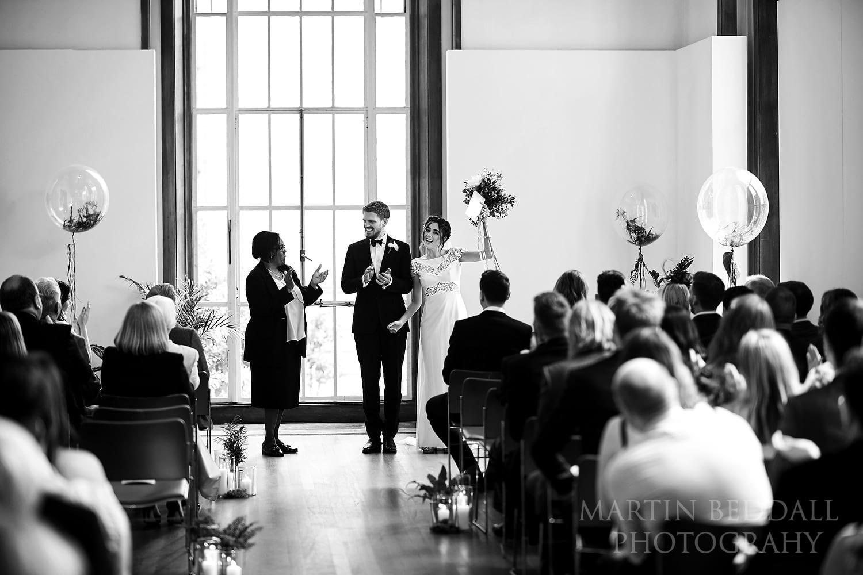 RIBA wedding ceremony complete